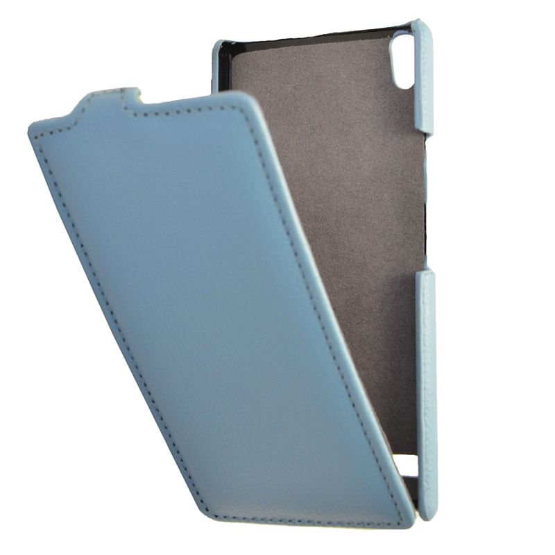 Чехол (флип-кейс) ARMOR-X flip full, для Huawei Ascend P6, синий
