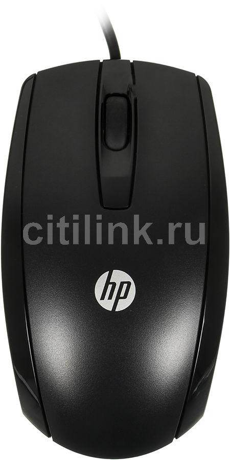Мышь HP X500, оптическая, проводная, USB, черный [e5e76aa]