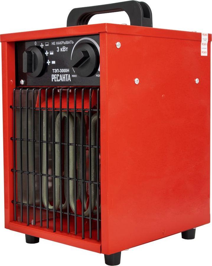 Тепловая пушка электрическая РЕСАНТА ТЭП-3000Н,  3кВт красный