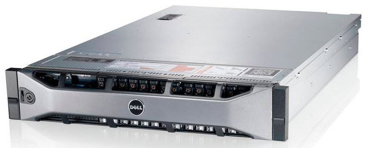 Сервер Dell PE R720 2xE5-2667v2/2x16Gb 2RRD 1.6/ x8 SAS 1x300Gb 15K 3.5