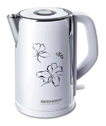 Чайник электрический REDMOND RK-M131, 2400Вт, белый