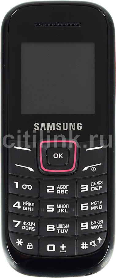 Мобильный телефон SAMSUNG Keystone 2 GT-E1200  черный/красный