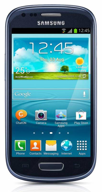 Смартфон SAMSUNG Galaxy S III mini VE GT-I8200  синий