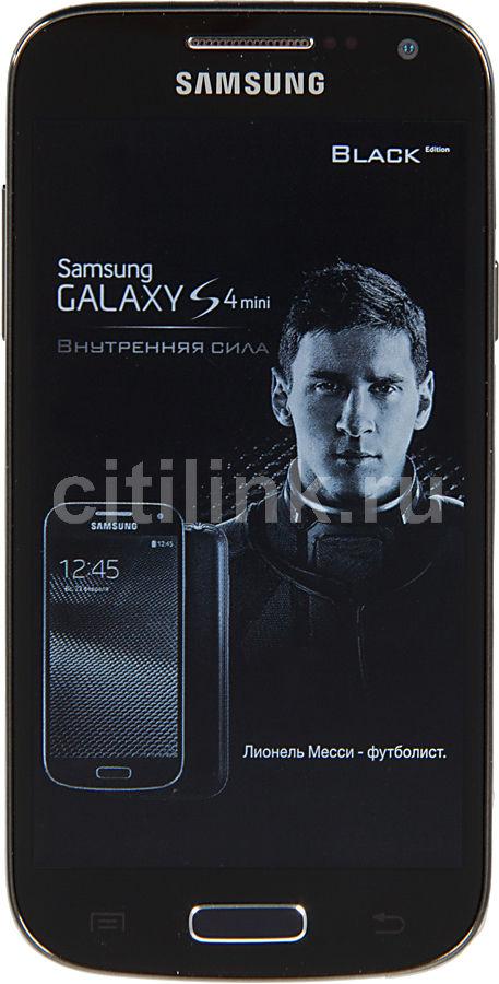Смартфон SAMSUNG Galaxy S4 mini GT-I9195,  черный