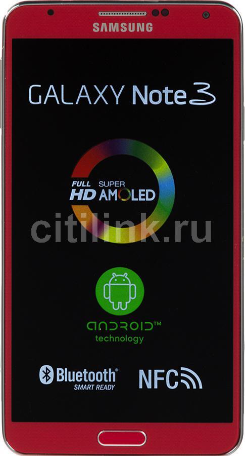 Смартфон SAMSUNG Galaxy Note 3 SM-N9000  32Gb, красный