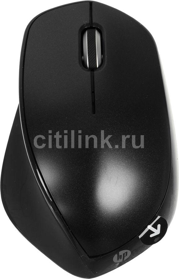 Мышь HP x4500, лазерная, беспроводная, USB, черный [h2w26aa]