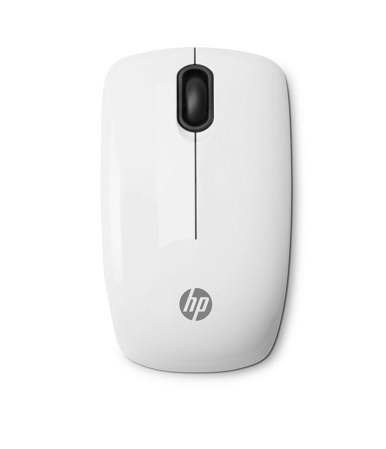 Мышь HP z3200 оптическая беспроводная USB, белый [e5j19aa]