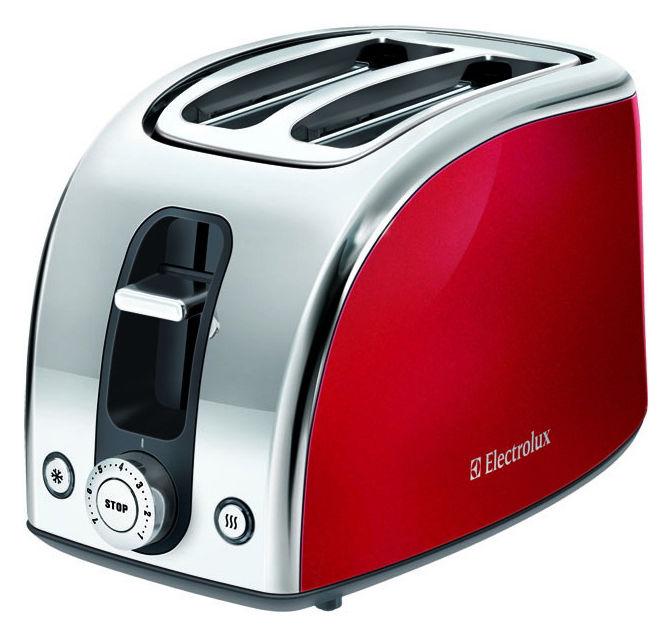 Тостер ELECTROLUX EAT7100R,  красный