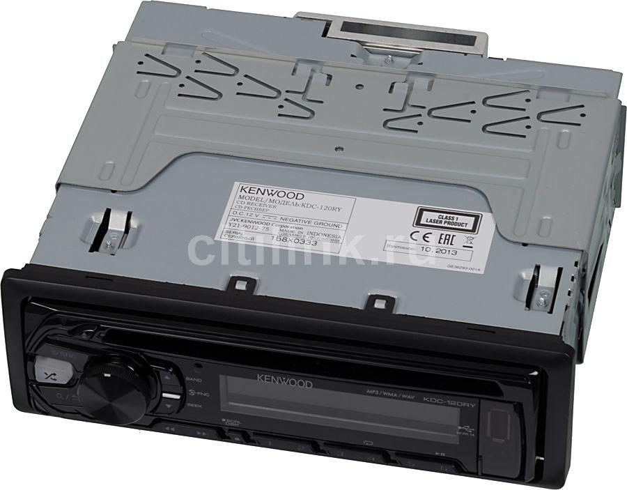 Автомагнитола KENWOOD KDC-120RY,  USB
