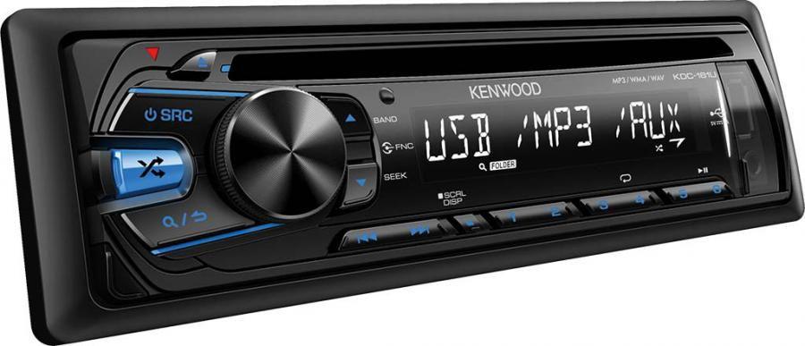 Автомагнитола KENWOOD KDC-161UB,  USB