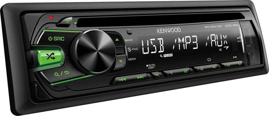 Автомагнитола KENWOOD KDC-161UG,  USB