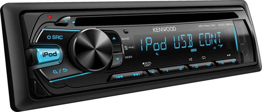 Автомагнитола KENWOOD KDC-361U,  USB