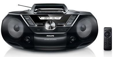 Аудиомагнитола PHILIPS AZ 787,  черный