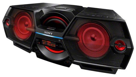 Аудиомагнитола SONY ZS-BTG905,  черный