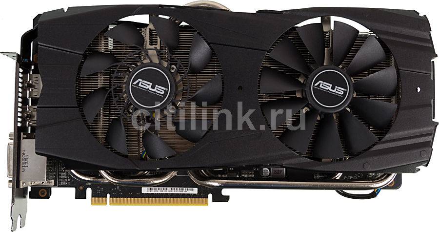 Видеокарта ASUS nVidia  GeForce GTX 780Ti ,  GTX780TI-DC2OC-3GD5,  3Гб, GDDR5, OC,  Ret