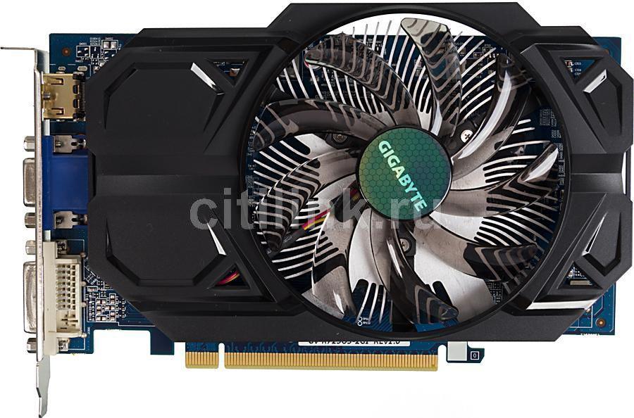 Видеокарта GIGABYTE Radeon R7 250,  2Гб, GDDR5, OC,  Ret [gv-r725o5-2gi]