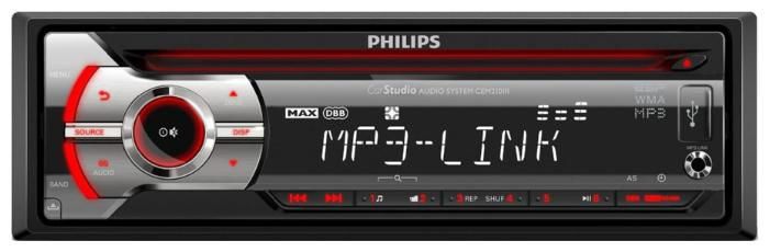 Автомагнитола PHILIPS CEM3200/51,  USB