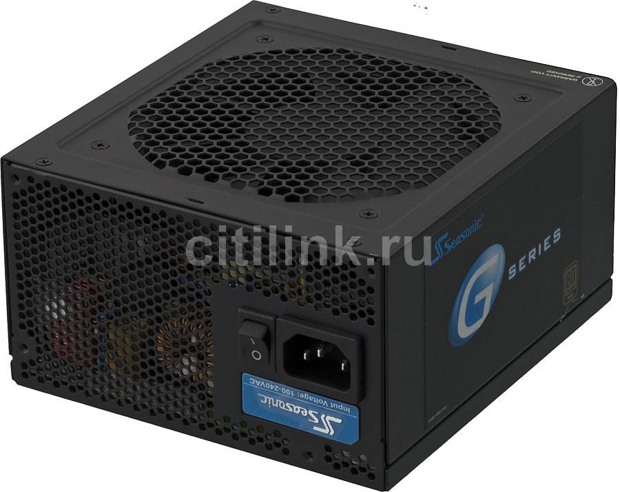 Блок питания SEASONIC G-650 (SSR-650RM),  650Вт,  120мм,  черный, retail