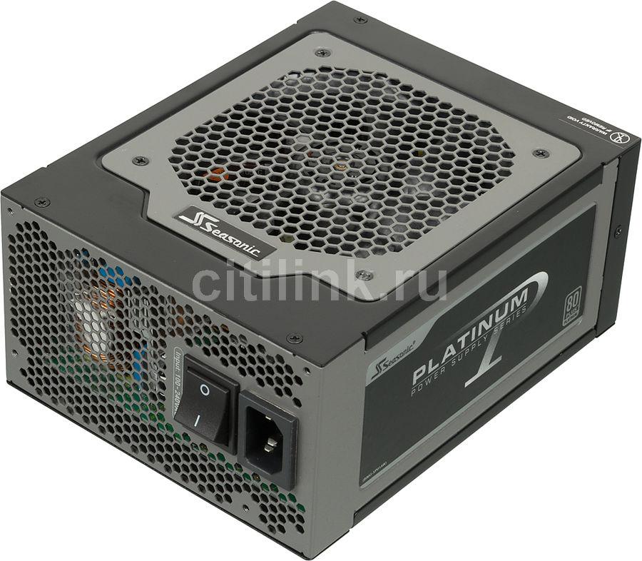 Блок питания SEASONIC SS-1000XP,  1000Вт,  120мм,  черный, retail
