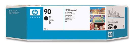 Картридж HP №90 C5059A,  черный