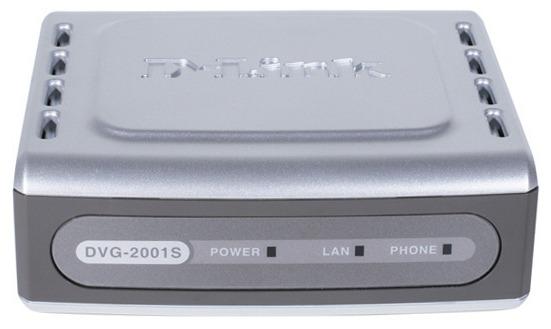 Телефония IP Dlink 1 портовый адаптор (DVG-2001S)