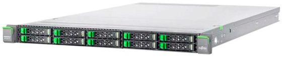 Сервер Fujitsu PR RX100 S8 E3-1220V3/8Gb UB 1.6/ SATA 2x1Tb 7.2K 3.5