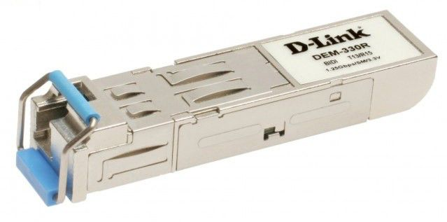 Модуль Dlink 1-port mini-GBIC 1000Base-LX SMF WDM SFP Tranceiver (up to 10km) (DEM-330R)