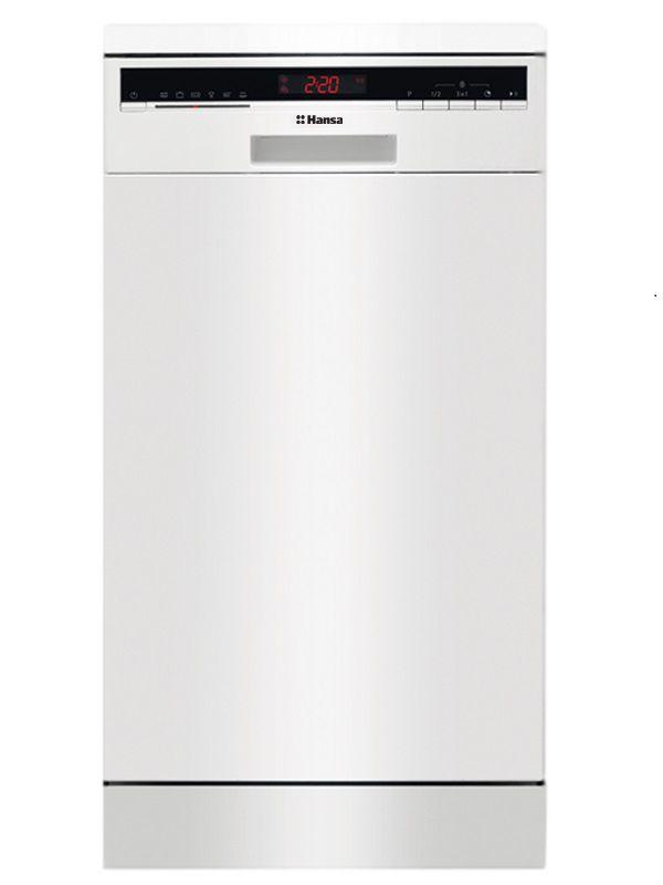 Посудомоечная машина HANSA ZWM 446 WEH,  узкая, белая [zwm446weh]