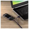 Кабель Hama для мобильных телефонов данных USB A-micro B (m-m), длина 1 м, синий (00115912) вид 2