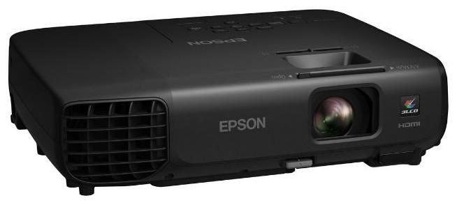 Проектор EPSON EB-X03 черный [v11h555140]