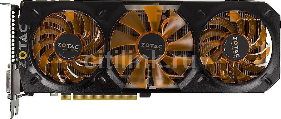 Видеокарта ZOTAC GeForce GTX 780 Ti,  ZT-70505-10P,  3Гб, GDDR5, OC,  Ret