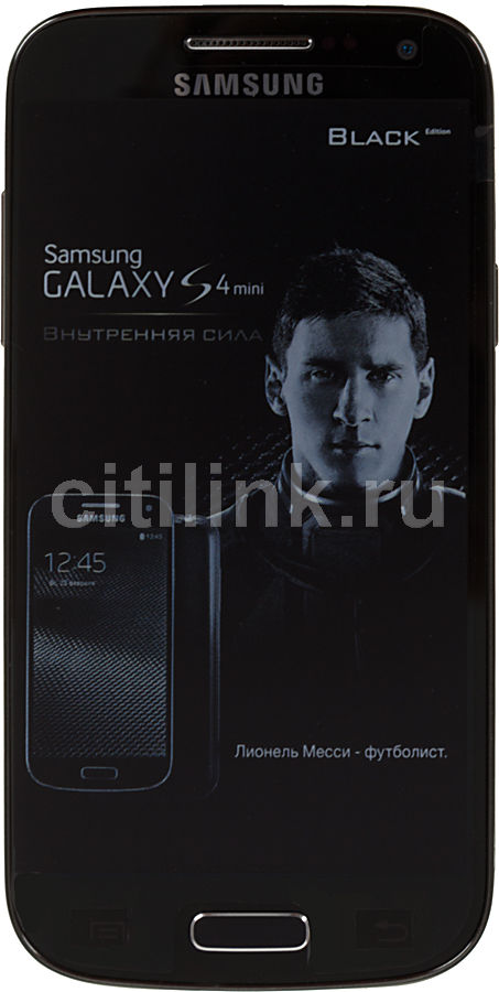 Смартфон SAMSUNG Galaxy S4 mini GT-I9195  черный