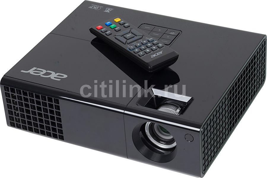 Проектор ACER X1273 черный [mr.jhe11.001]