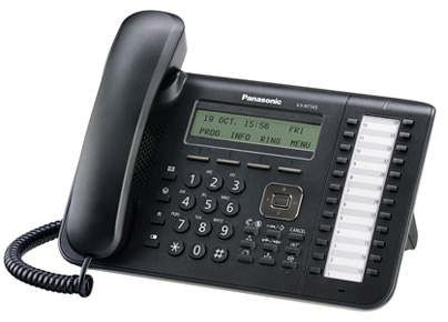 Системный телефон PANASONIC KX-NT543RUB черный [kx-nt543ru-b]
