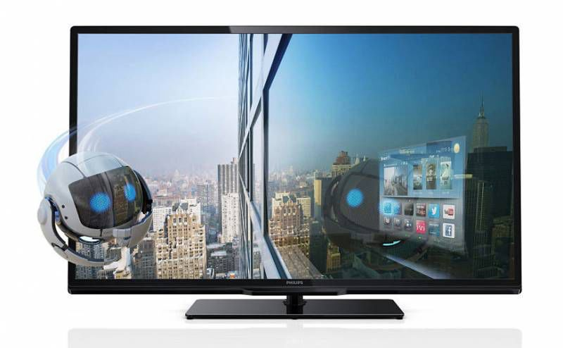 "LED телевизор PHILIPS 46PFL4418T/60  ""R"", 46"", 3D,  FULL HD (1080p),  черный"