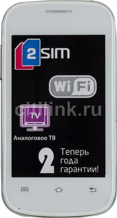 Мобильный телефон FLY E158  белый