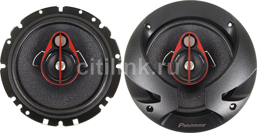 Колонки автомобильные PIONEER TS-R1750S,  коаксиальные,  250Вт
