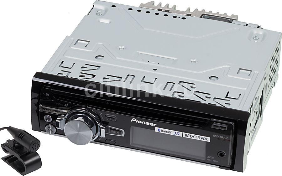 Автомагнитола PIONEER DEH-X8600BT,  USB,  SD