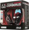 Наушники с микрофоном ASUS Cerberus,  мониторы, черный  / красный [90yh0061-b1ua00] вид 9