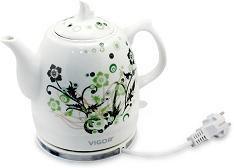 Чайник электрический VIGOR HX-2096, 1200Вт, белый
