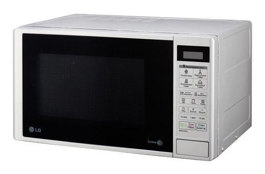 Микроволновая печь LG MB-4042DS, серебристый