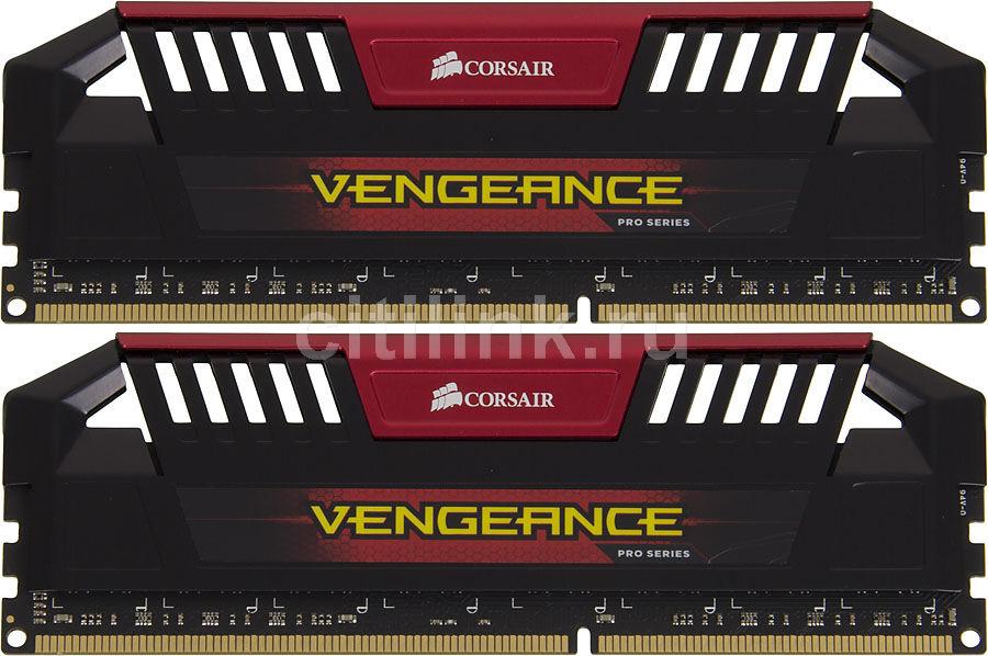 Модуль памяти CORSAIR Vengeance Pro CMY8GX3M2A1866C9R DDR3 -  2x 4Гб 1866, DIMM,  Ret