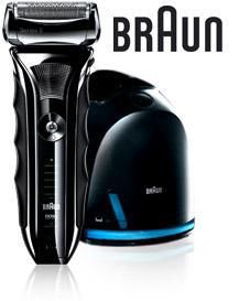 Электробритва BRAUN Series 5 590CC HUGO BOSS,  черный