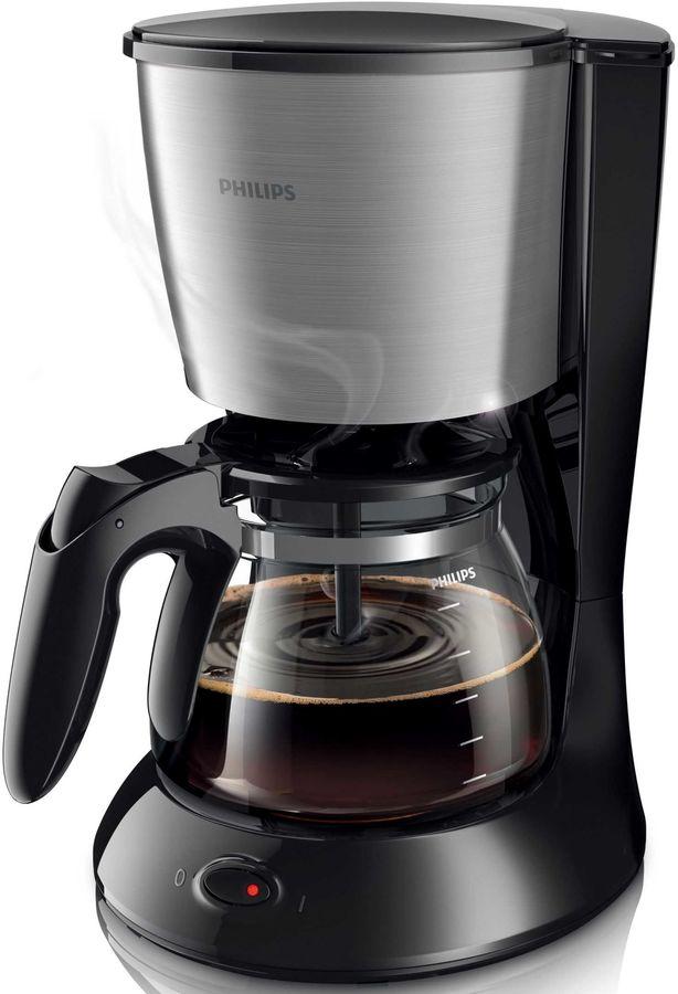 Кофеварка PHILIPS HD 7457/20,  капельная,  черный  [hd7457/20]