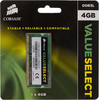 Модуль памяти CORSAIR Value Select CMSO4GX3M1C1600C11 DDR3L -  4Гб 1600, SO-DIMM,  Ret вид 1