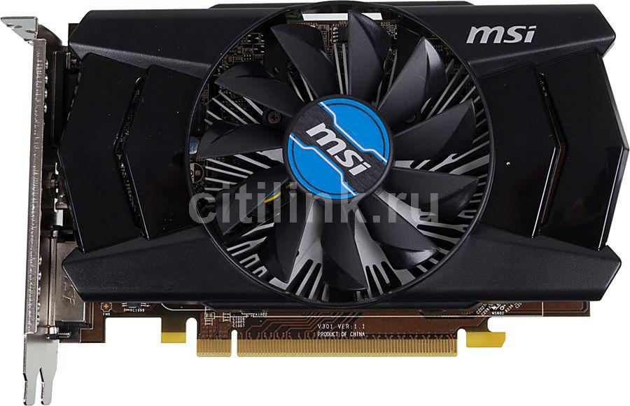 Видеокарта MSI Radeon R7 250,  R7 250 2GD3 OC,  2Гб, DDR3, OC,  Ret [r7 250 2gd3 oc ]