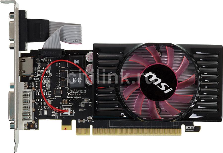 Видеокарта MSI GeForce GT 630,  2Гб, DDR3, Low Profile,  Ret [n630-2gd3/lp]