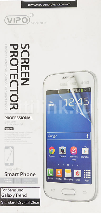 Защитная пленка VIPO для Samsung Galaxy Trend,  прозрачная, 1 шт