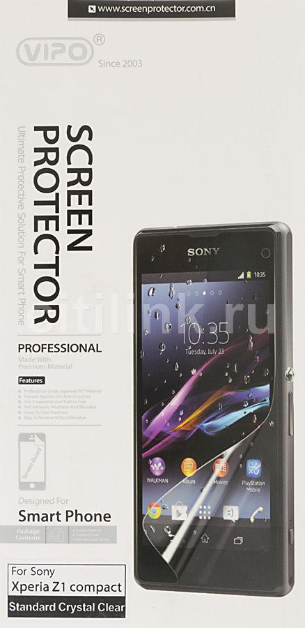 Защитная пленка VIPO для Sony Xperia Z1 Compact,  прозрачная, 1 шт