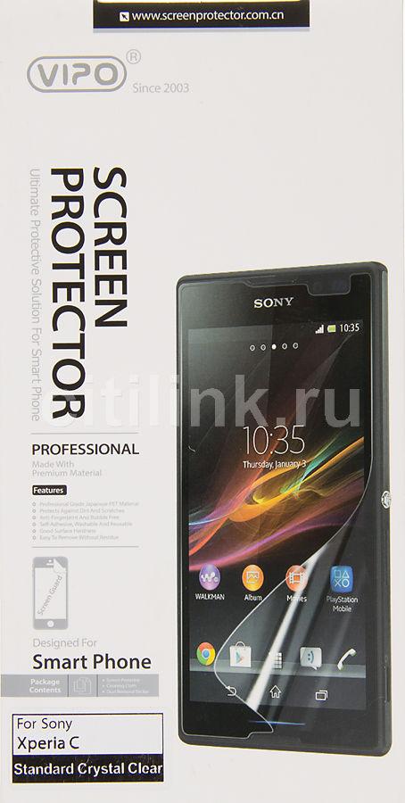 Защитная пленка VIPO для Sony Xperia C,  прозрачная, 1 шт